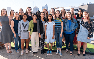 ywca young women council group photo
