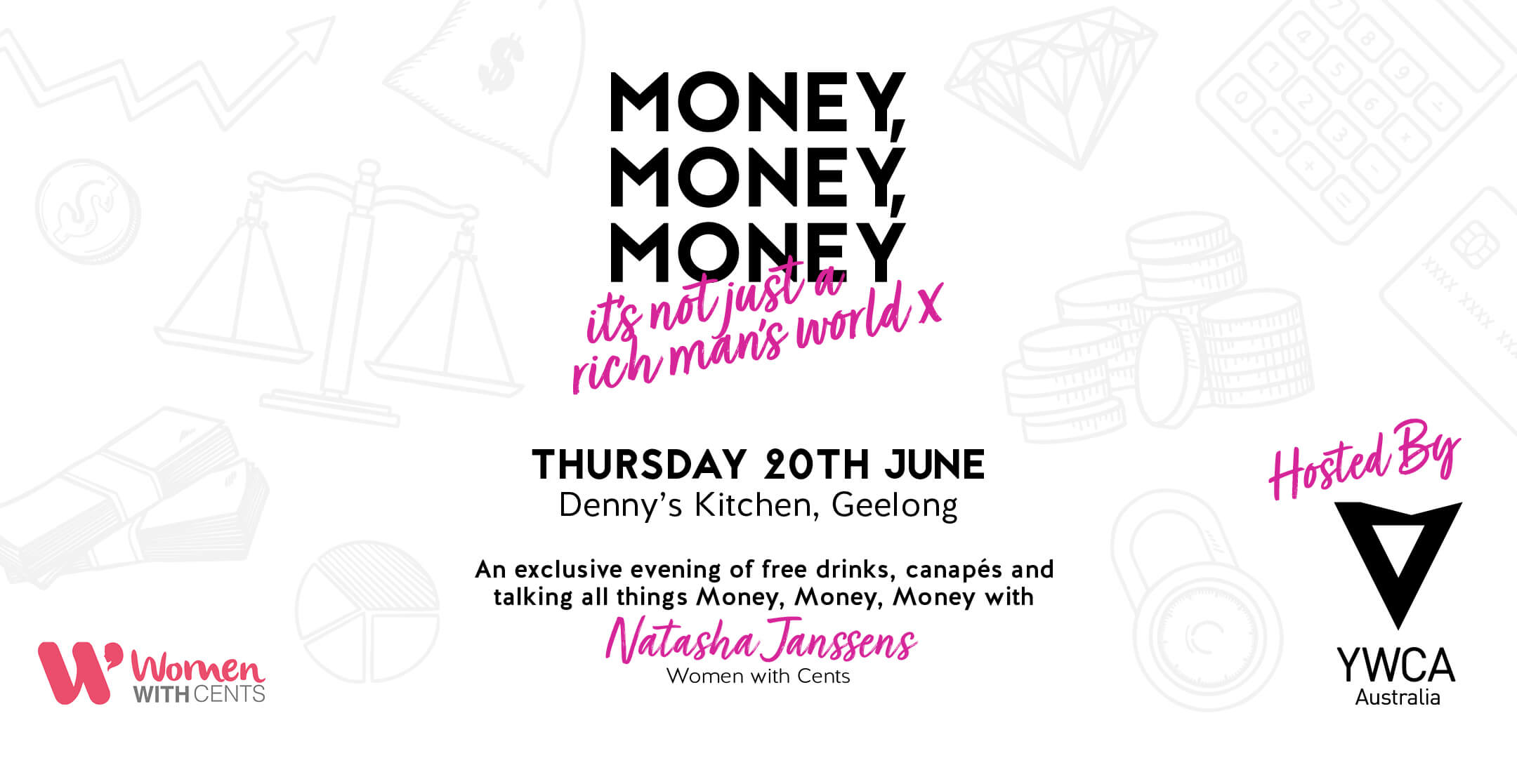 YWCA Event flyer 20th June